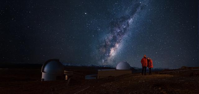 画像: マウントジョン天文台での星空観賞