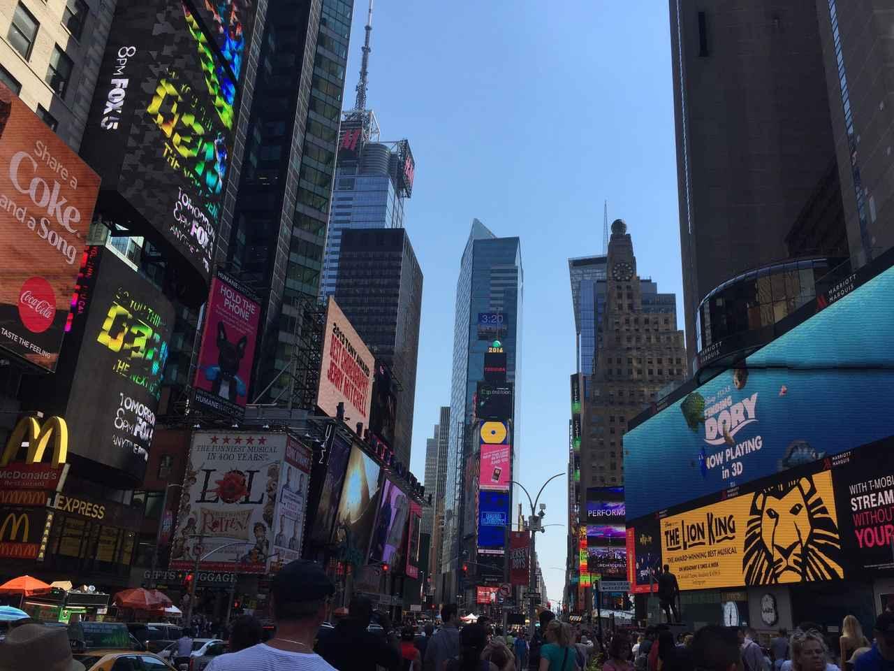 画像: ニューヨーク・タイムズスクエア(イメージ)