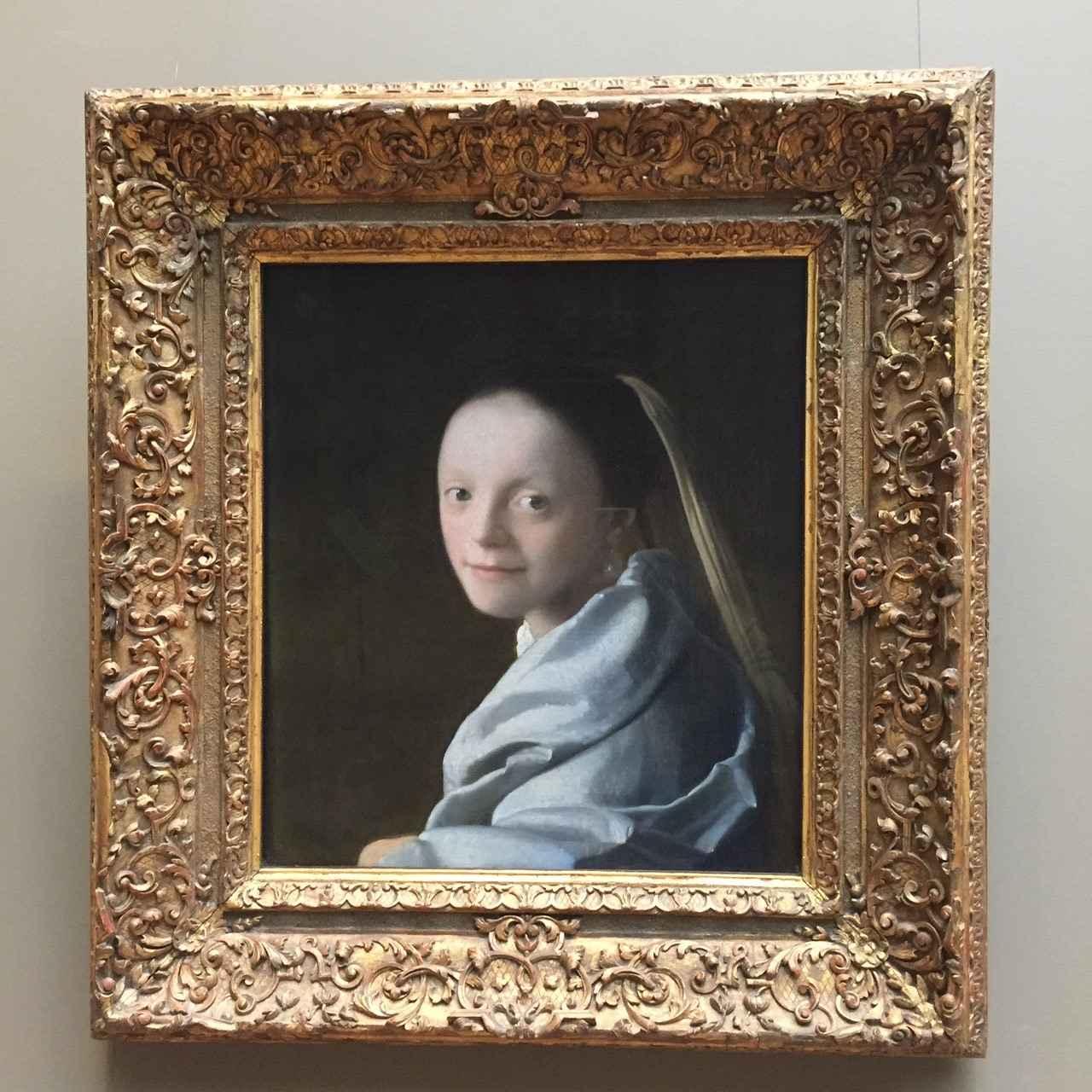 画像: フェルメール作「少女」/メトロポリタン美術館所蔵
