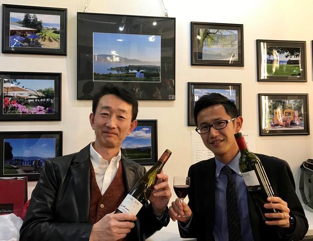 画像: 左:カナダワインのスペシャリスト/滝澤氏 右:カナダ企画担当/伊藤