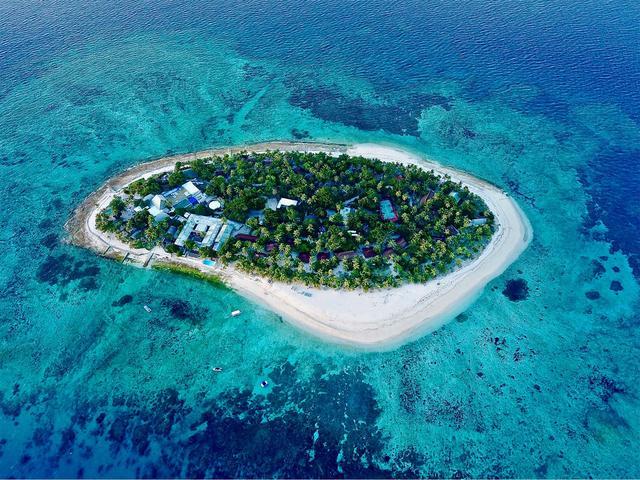 画像: 離島にあるリゾートホテル(イメージ)