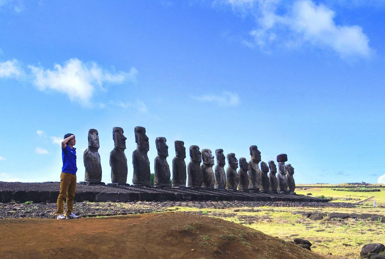 画像: 添乗員同行/神秘のイースター島と常夏リゾートタヒチ6日間