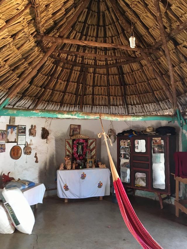 画像: マヤ人の民家村訪問(イメージ)
