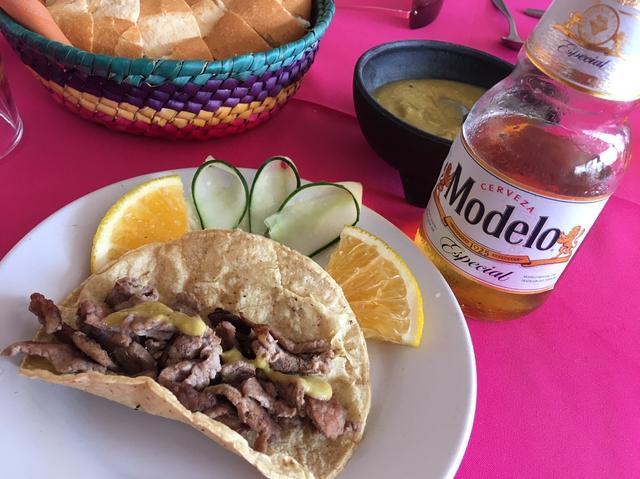 画像: タコスも食べることができました!レストラン「ヌエボ」のお食事(イメージ) 6日目ランチ