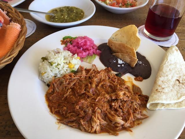 画像: メキシコ料理「コチニータ・ピビル」(イメージ)レストラン「ウシュマルロッジリゾート」のお食事 3日目ランチ