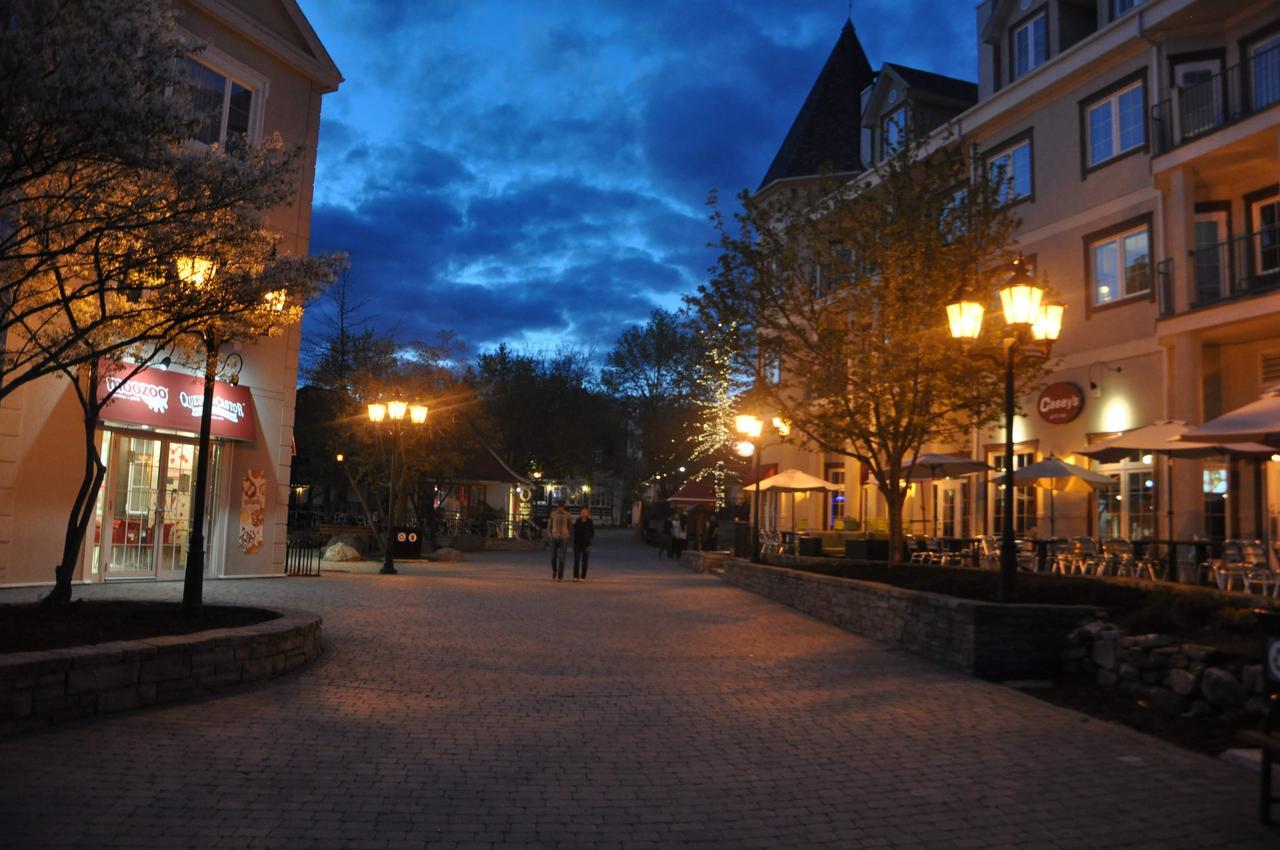 画像: 夜のトレンブランビレッジ 弊社スタッフ撮影