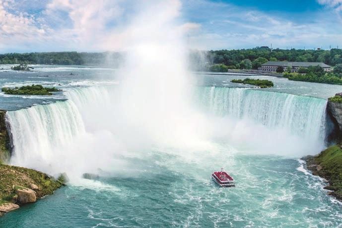 画像: 【ANAビジネスクラス利用(東京~米国間)】 ナイアガラの滝とニューヨーク 6日間|クラブツーリズム