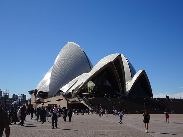 画像: シドニーのシンボル世界遺産オペラハウス
