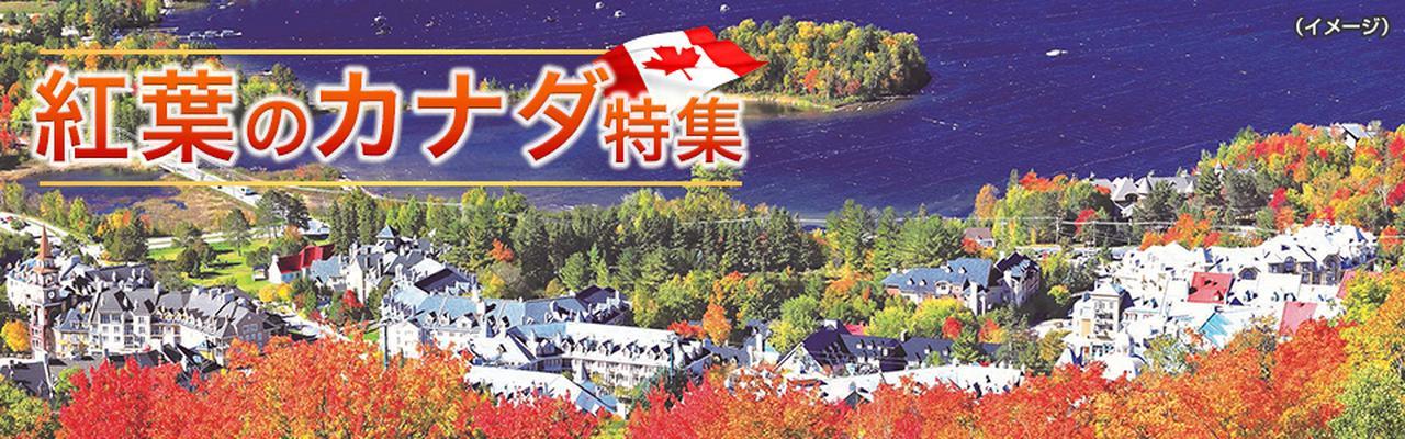 画像: 紅葉のカナダ旅行・ツアー・観光 クラブツーリズム