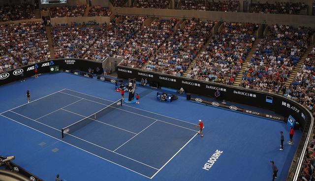 画像: 全豪オープンの会場のひとつ ロッドレイバーアリーナ(イメージ)