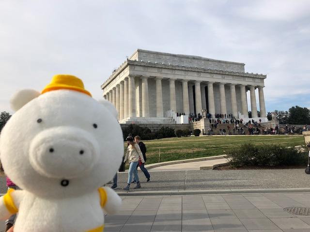 画像: リンカーン記念堂ときーぶー(イメージ)