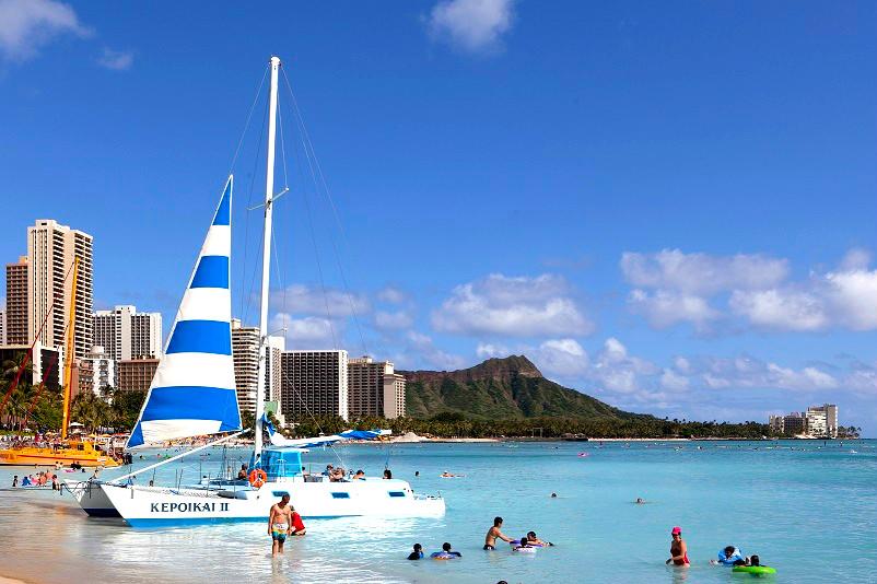 画像: 『添乗員同行/最大22名様限定/はじめてのハワイ・ホノルル5日間』オアフ島充実観光、お食事9回付き!|クラブツーリズム