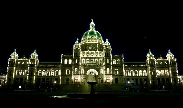 画像: ビクトリア・インナーハーバーの州議事堂(イメージ)