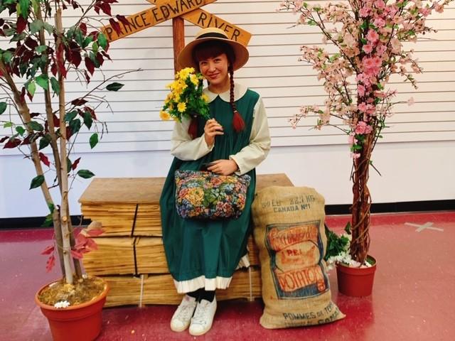 画像: (写真)アンのコスチュームを着た和田/ガイド様撮影