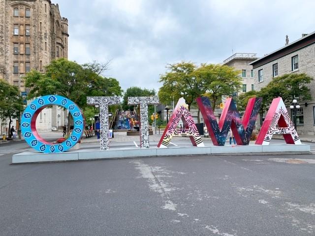 画像: 市内のオブジェ/弊社スタッフ和田撮影