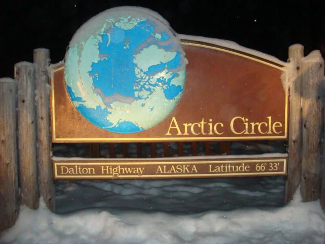 画像1: 北極圏の標識/イメージ