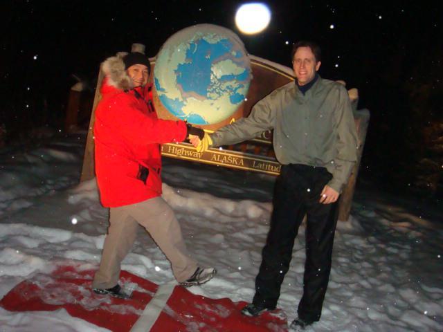 画像2: 北極圏の標識/イメージ