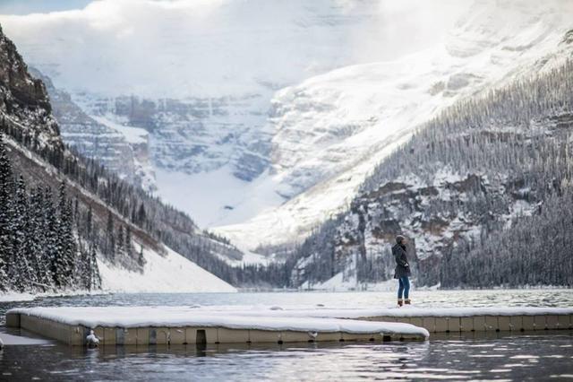 画像: ルイーズ湖