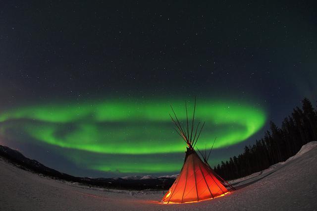 画像: カナダ・ホワイトホース 気軽に楽しむオーロラ|クラブツーリズム