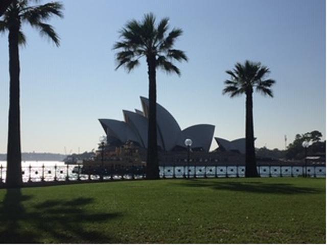 画像: シドニー市内・オペラハウス(2020/01/21 現地スタッフ撮影)