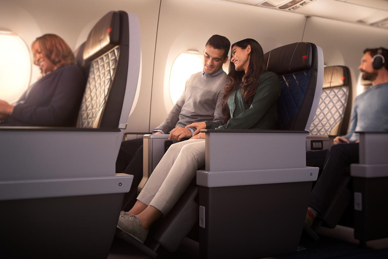 画像: デルタ・プレミアムセレクト座席/デルタ航空提供(イメージ)