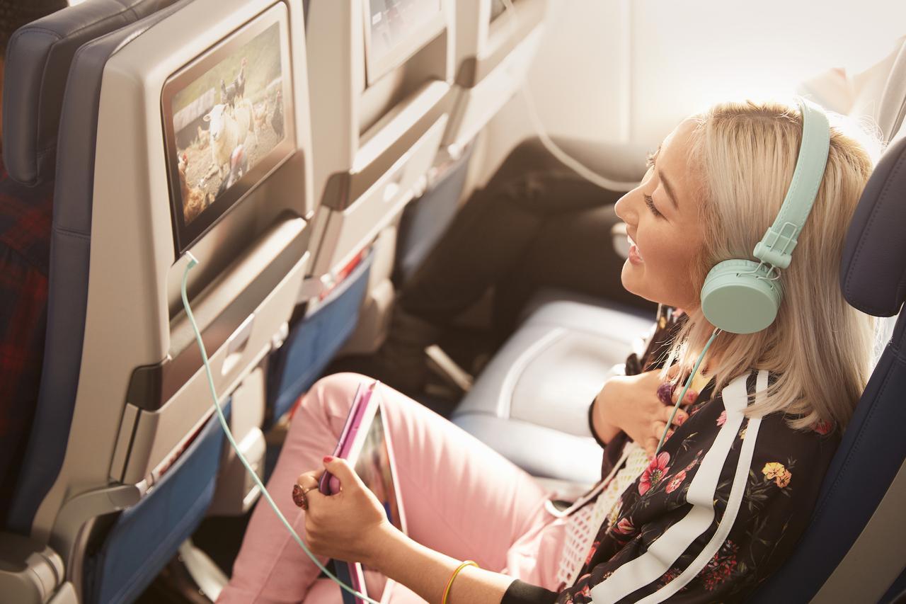 画像: エコノミークラス シート/デルタ航空提供(イメージ)