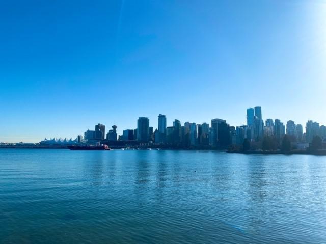 画像: 自然と都内が融合した街、バンクーバー スタンレーパークからの景観①/弊社スタッフ和田撮影