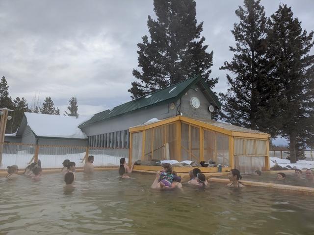 画像: 極寒の中の温泉は最高に気持ちがいいです♪/お客様撮影