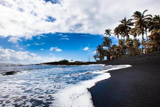 画像: 黒砂海岸(イメージ)