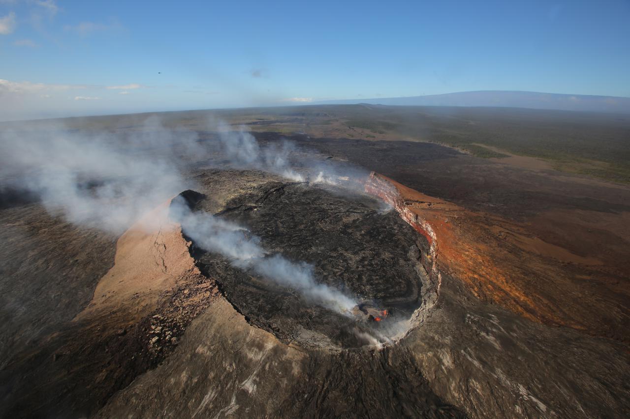 画像: キラウエア火山国立公園(イメージ)