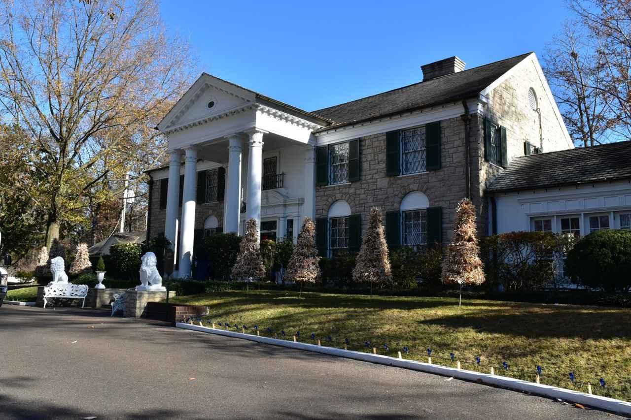 画像: エルヴィスの邸宅・グレースランド(イメージ)