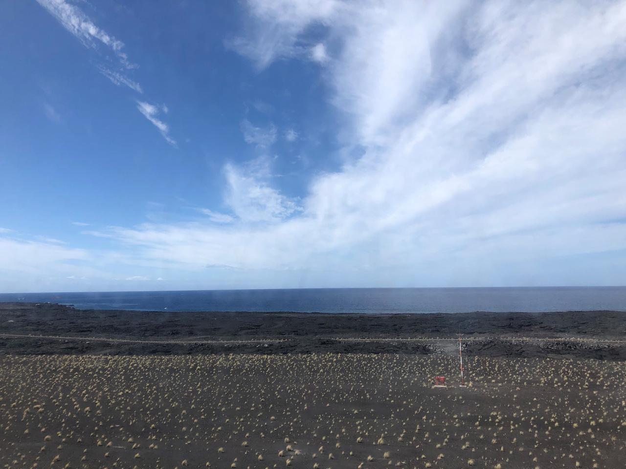 画像: ハワイ島溶岩台地/イメージ