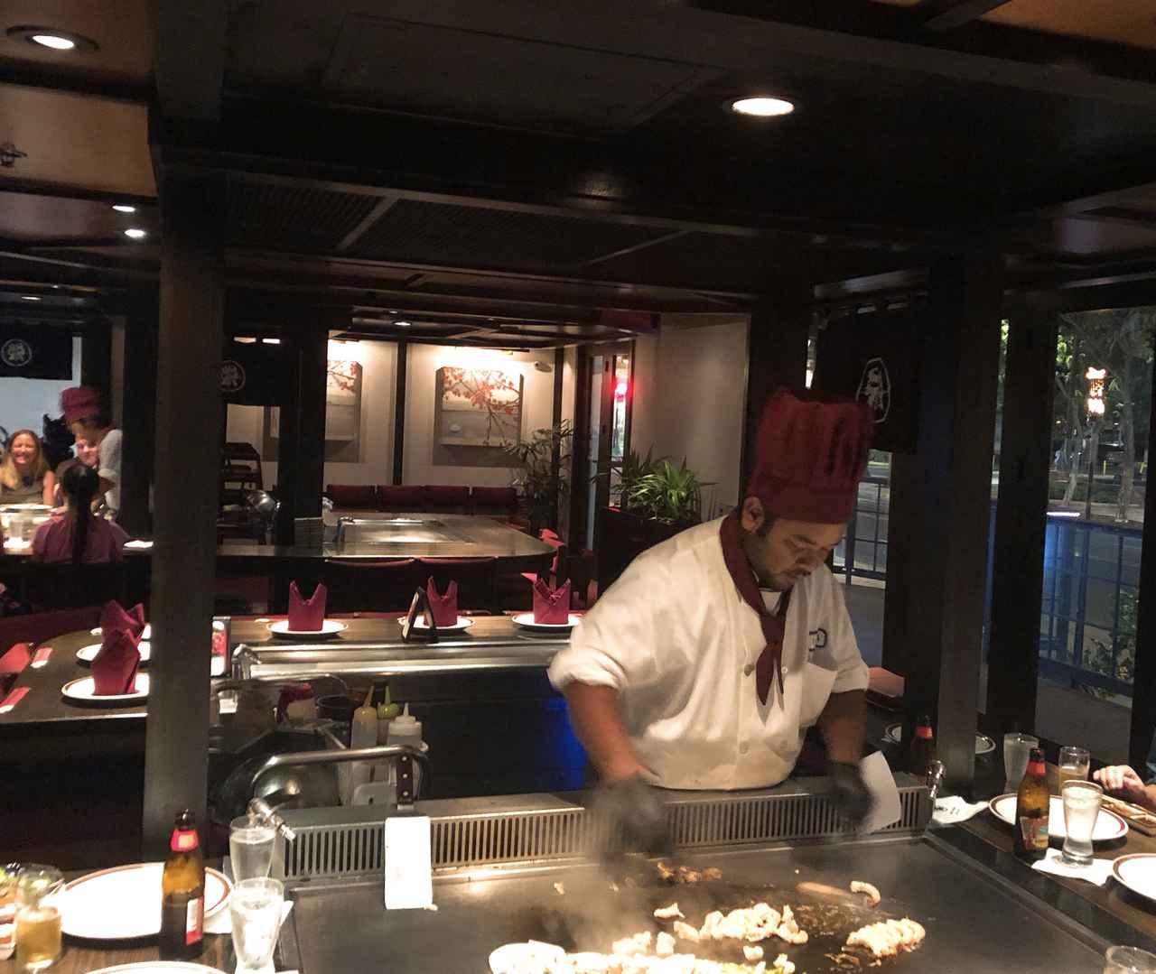 画像: 鉄板焼きレストラン/イメージ