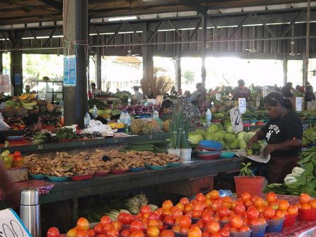 画像: ナンディの市場(6月初旬撮影)
