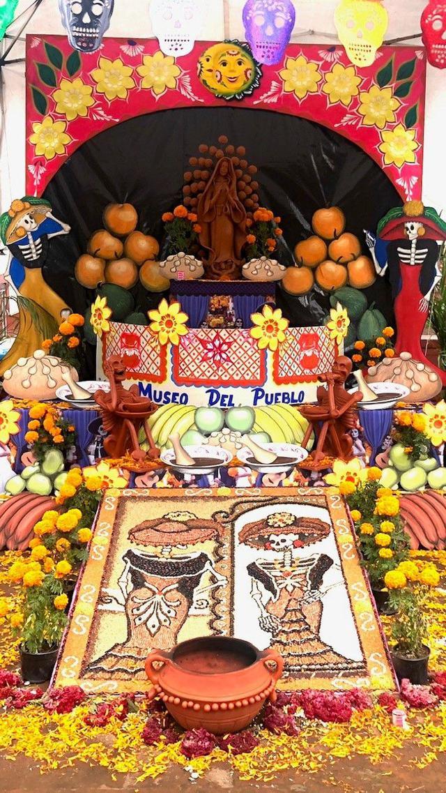 画像: <おひとり参加限定の旅/女性限定>『ココロオドル! 幻想的なメキシコ マリーゴールドに彩られる死者の日 7日間』 クラブツーリズム