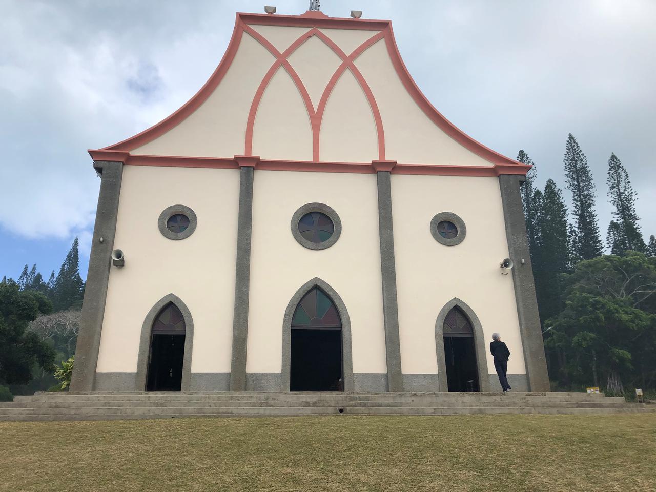 画像: バオ村の教会/スタッフ撮影