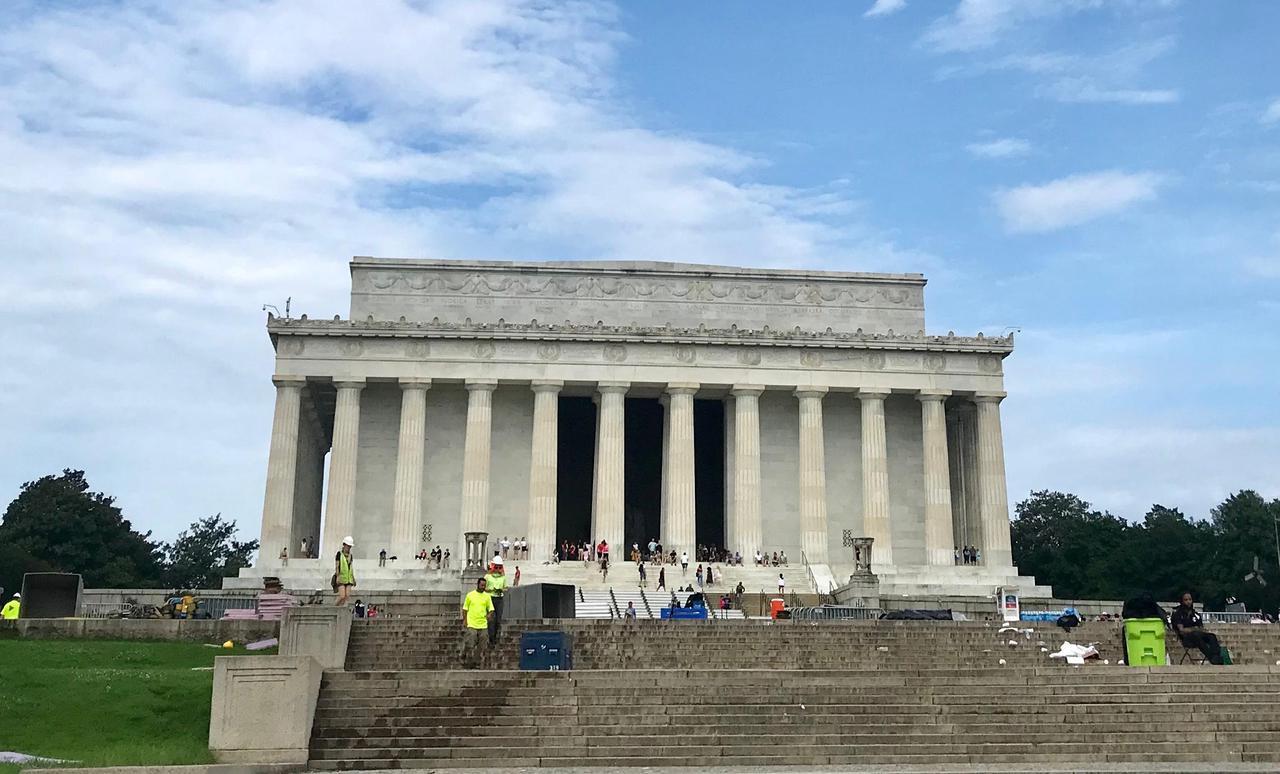 画像: リンカーン記念堂(筆者撮影)