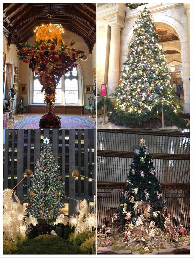 画像: ニューヨークのクリスマスツリー(イメージ)