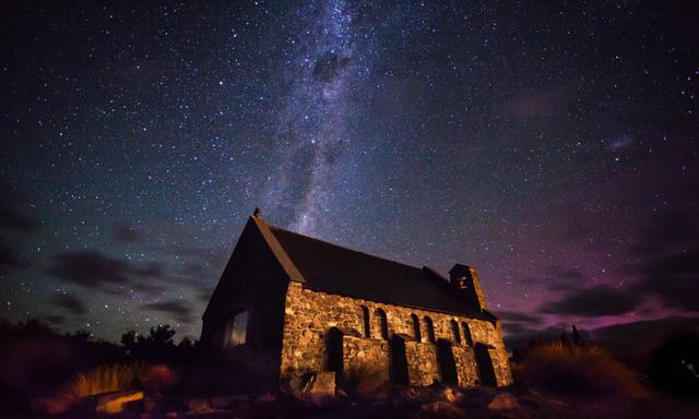 画像: テカポ湖の星空 ※自然現象のためご覧いだただけない場合があります