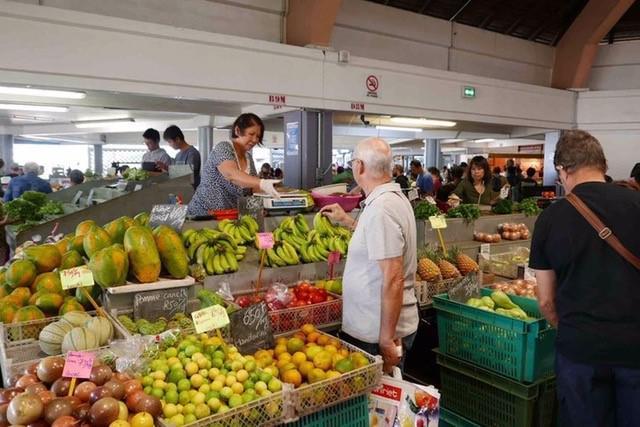 画像: 地元市場の様子(6月中旬撮影)
