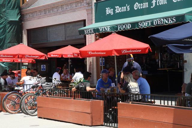 画像1: サンタモニカ・レストランの様子/現地スタッフ撮影(6月14日撮影)