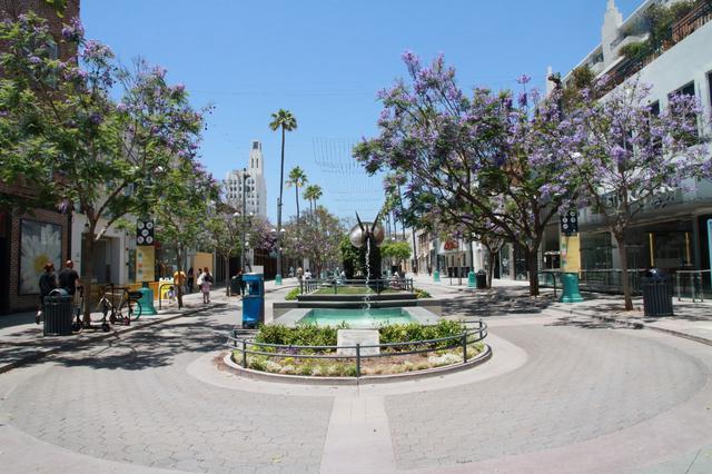 画像: サンタモニカ「サード・ストリート・プロムナード」の様子/現地スタッフ撮影(6月14日撮影)
