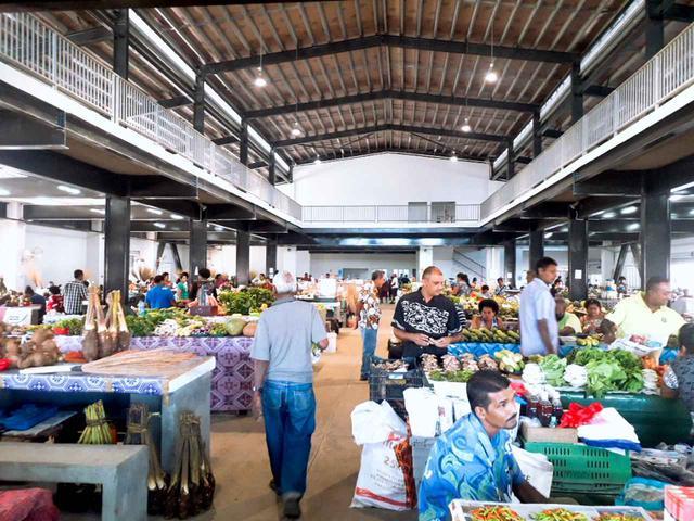 画像: ラキラキタウンの新しいマーケット(6月中旬撮影)