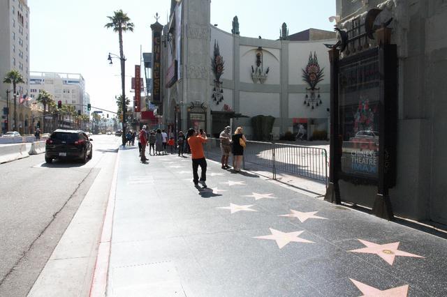 画像: ロサンゼルス・チャイニーズシアターの様子/現地スタッフ撮影(6/21撮影)