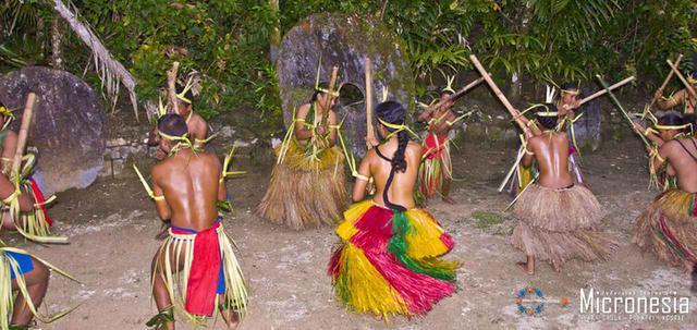 画像: 年に一度のヤップ祭の様子 (出典:ミクロネシア政府観光局)