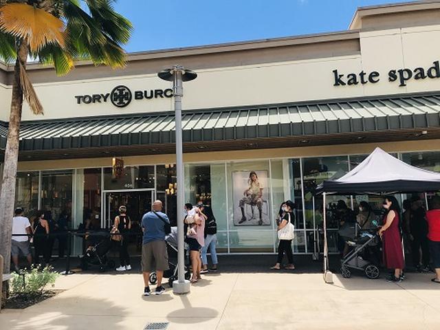 画像: お店の前の列(7月4日 スタッフ撮影)