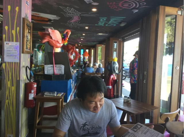 画像: シトロンビーチにオープンしたカフェバー(7月初旬 スタッフ撮影)