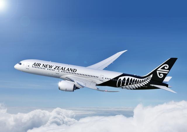 画像: ニュージーランド航空の機体(ニュージーランド航空より)