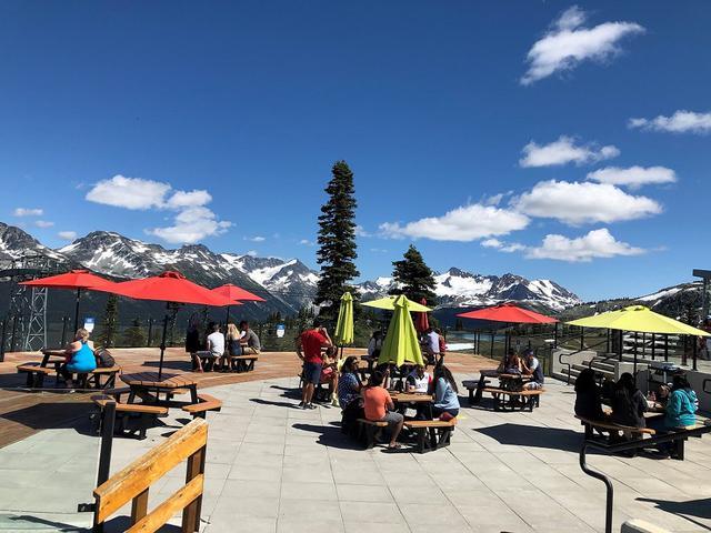 画像: ウィスラー山山頂の様子/7/26撮影©カナダVIPサービス