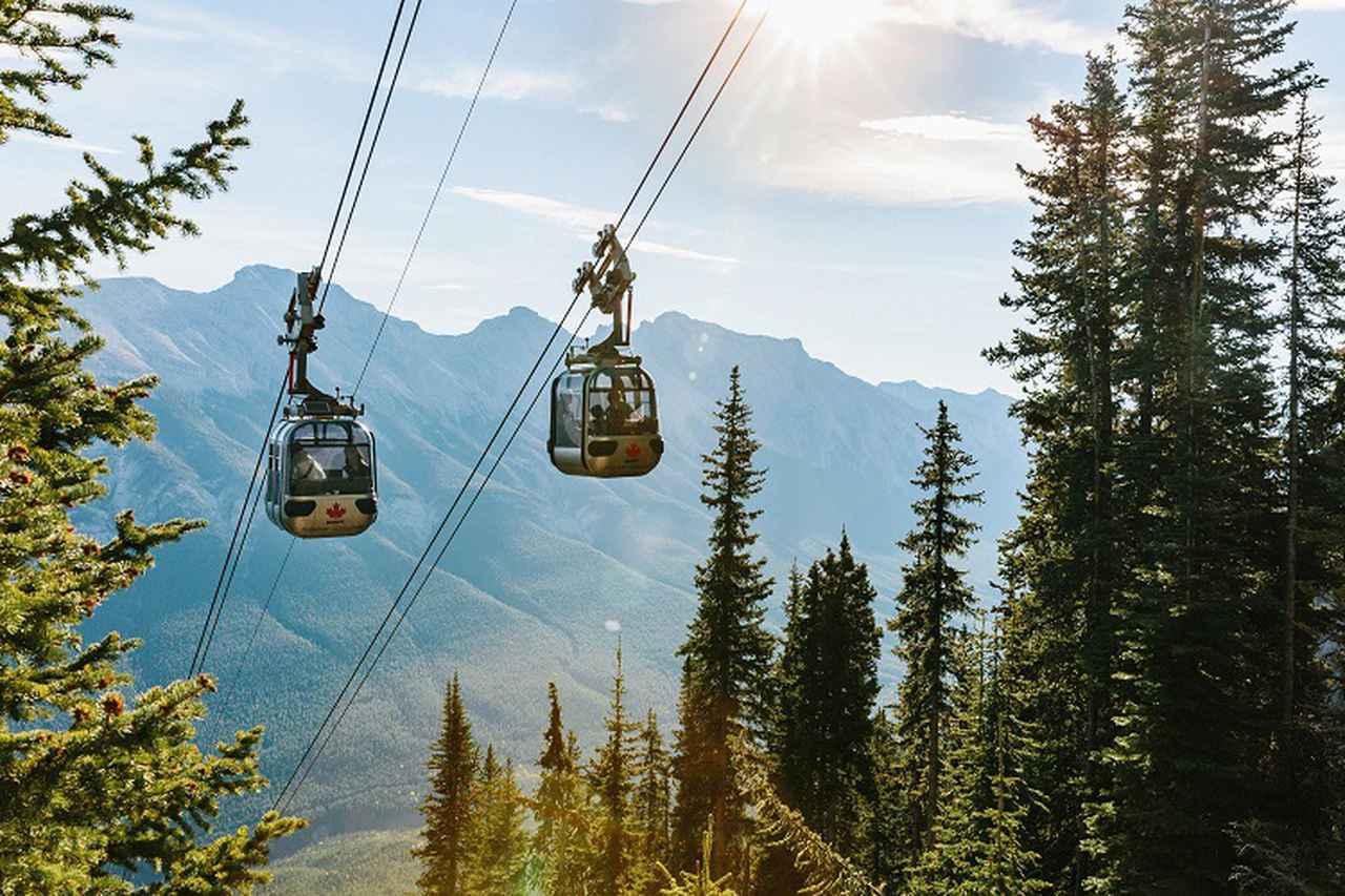 画像: Banff Gondola©Travel Alberta